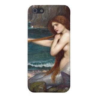 人魚、ウォーターハウス iPhone 5 カバー