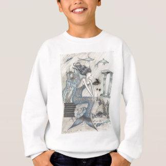 人魚 スウェットシャツ