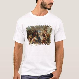 人1835-8年の7つの年齢(油) Tシャツ