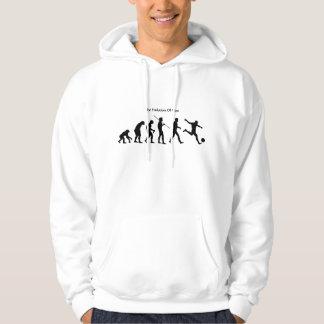 人(サッカー)のスエットシャツの進化 パーカ