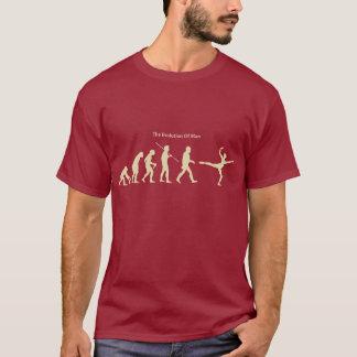人(ダンス)のTシャツの進化 Tシャツ