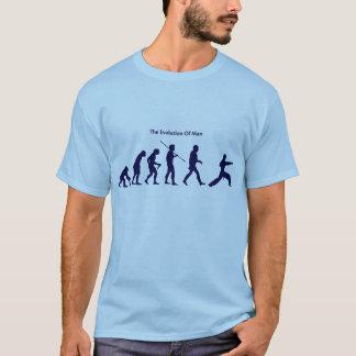 人(戦闘)のTシャツの進化 Tシャツ