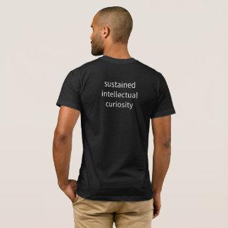 """人- """"支えられた知識人… """" Tシャツ"""