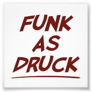 人、私はDRUCKとしてファンクです。  責任があ飲んで下さい フォトプリント