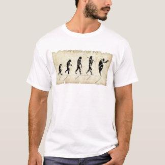 人/kungのfuの進化 tシャツ