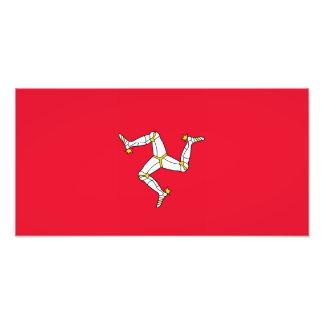 人- Manx旗の島 フォトプリント