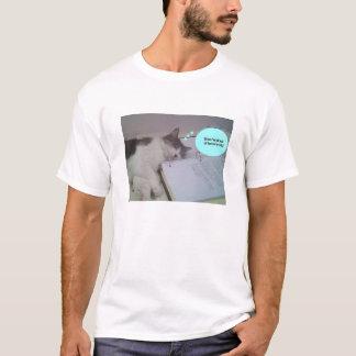 人homework1に疲れているim tシャツ
