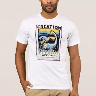 今ではヴィンテージの梅毒は治療が可能なWPAポスターです Tシャツ