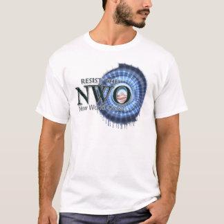 今に抵抗して下さい Tシャツ