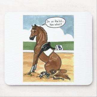今ビットの馬の芸術何 マウスパッド