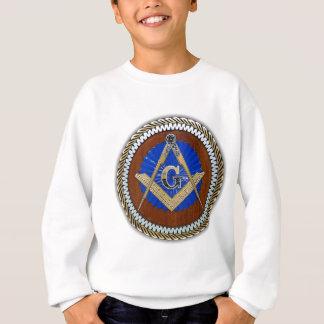 今フリーメーソン会員の陰謀の正方形及びコンパス スウェットシャツ