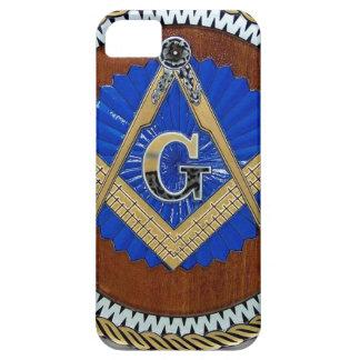今フリーメーソン会員の陰謀の正方形及びコンパス iPhone SE/5/5s ケース
