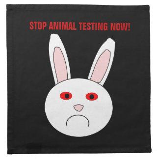 今停止動物試験のナプキン ナプキンクロス