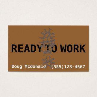 今働くために用意して下さい。仕事Search.Make Money.Labor 名刺
