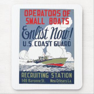 今入隊して下さい! 米国沿岸警備隊 マウスパッド