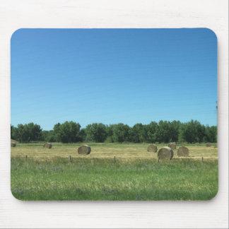 今干し草マウスパッド-フロストの丘の農場 マウスパッド