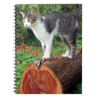 今度は私の注意-子猫のノート--を有します ノートブック