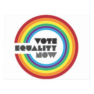 今投票平等 ポストカード
