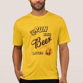 今操業ビールより遅いスポーツTek SS Tシャツ