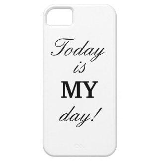 """""""今日あります私の日は!"""" iPhone 5/5sの場合 iPhone SE/5/5s ケース"""