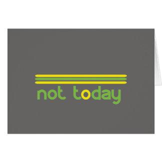 今日おもしろい グリーティングカード
