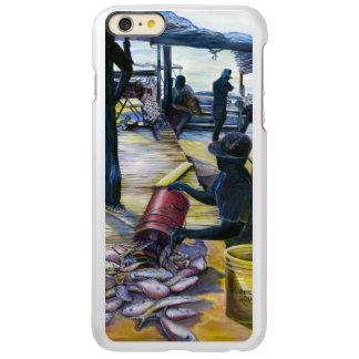 今日のメニュー、港の島、バハマ INCIPIO FEATHER SHINE iPhone 6 PLUSケース