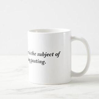 今日の安全なソフトウェアはtomorの主題…です コーヒーマグカップ