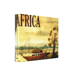 今日アフリカ、Mojisola Gbadamosi Okubuleの苦痛… キャンバスプリント