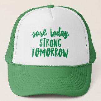 今日傷の強い明日のカスタムなトラック運転手の帽子 キャップ