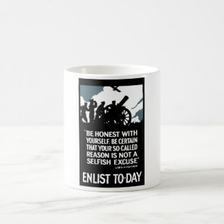 今日入隊して下さい -- Kitchener WWI主 コーヒーマグカップ