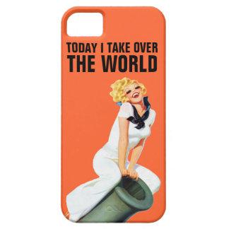 今日私は世界を引き継ぎます iPhone SE/5/5s ケース