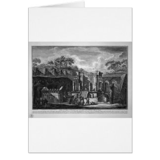 今日…あるIsisの寺院の眺め、 カード