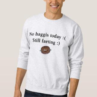 今日haggis無し: (まだ屁をします:) スウェットシャツ