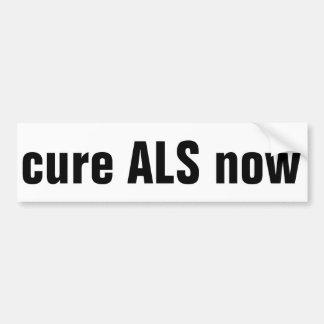 今治療ALS バンパーステッカー