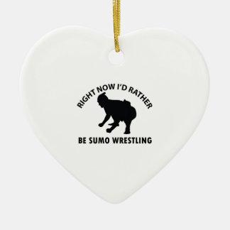 今私は相撲レスリングのギフト項目むしろ セラミックオーナメント