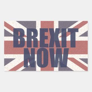 今Brexitのステッカー 長方形シール