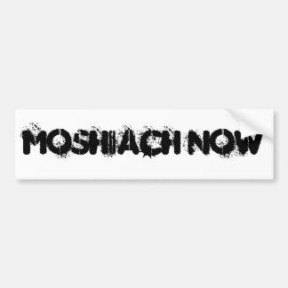 今MOSHIACH バンパーステッカー