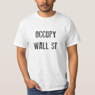 今Occupy wall street Tシャツ