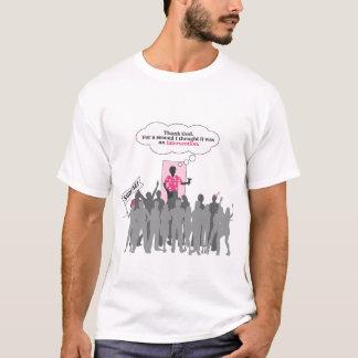 介在のパーティー Tシャツ