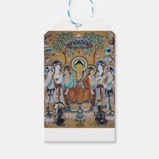 仏および菩薩のトンホワンMogaoの洞窟の芸術 ギフトタグ