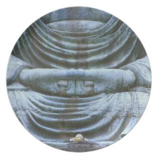 仏のすばらしい詳細、Kotokujiの寺院、鎌倉、2 プレート