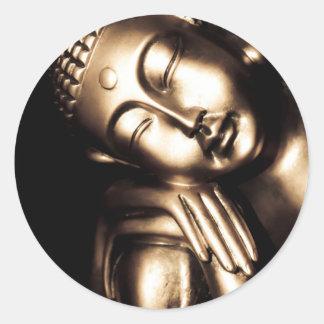 仏のタイの知恵 ラウンドシール