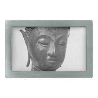 仏のヘッド15世紀-タイ 長方形ベルトバックル