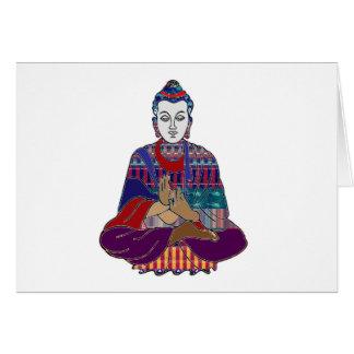 仏の仏教の先生のマスターNVN659のスピリチュアル カード