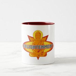 仏の啓発 ツートーンマグカップ