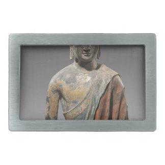 仏の変色させた彫刻-唐朝(618) 長方形ベルトバックル