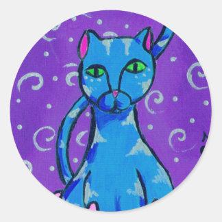 仏の子猫 ラウンドシール