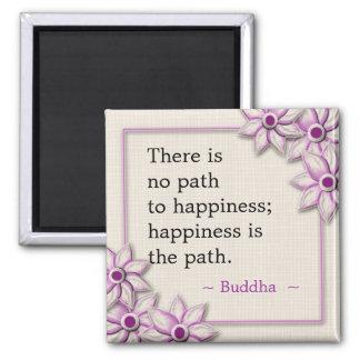 仏の幸福の引用文 マグネット