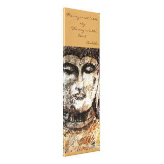 仏の引用文の水彩画のキャンバスの壁の芸術 キャンバスプリント