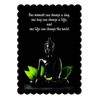 仏の引用文1のカード/招待 カード
